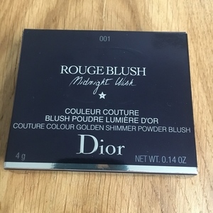 rouge blush midnight wish. couleur couture. blush poudre lumiere d or