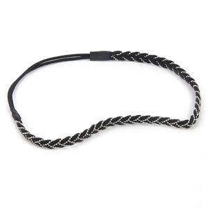 Headband noir et argenté Camaieu