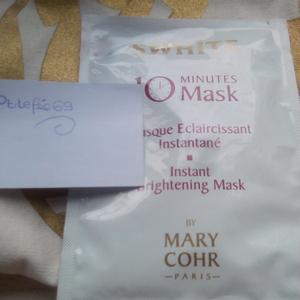Masque éclaircissant