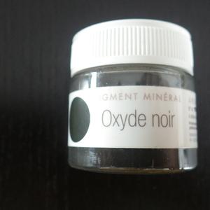 Oxyde noir pigment minéral