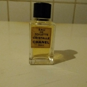 """Miniature eau de toilette  """"Chanel Cristalle"""""""