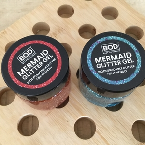 Mermaid glitter gel