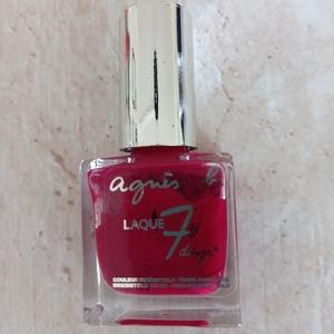 """Vernis rouge """"Agnès b"""" Laque 7 days"""