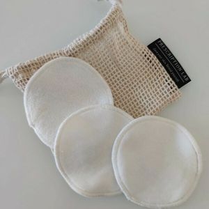 3 cotons lavables bio