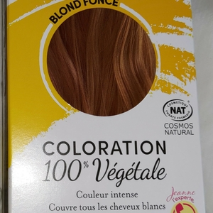 Coloration 100% végétale
