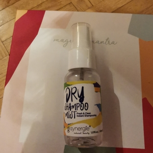 Dry shampoo mist fresh & clean instant shampooing