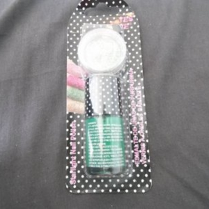 Kit Vernis à ongles paillete YES LOVE NEUF