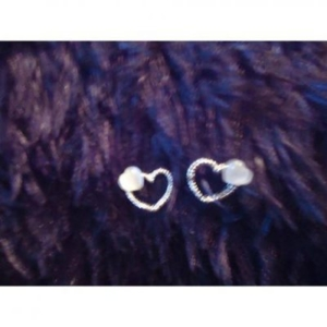 boucles d'oreille coeur