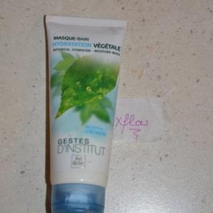 masque hydratation végétale