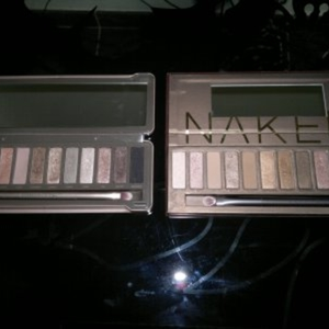 Palettes URBAN DECAY Naked 1 & 2