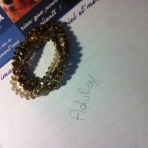 Bracelet dégradés de doré