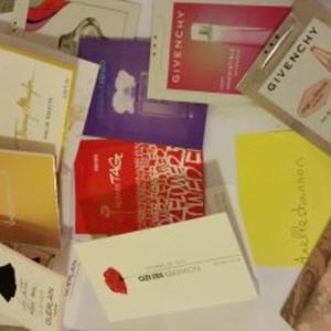 Lot d'échantillons de parfums