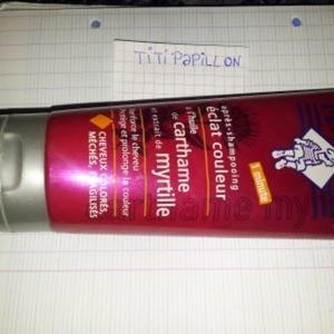 Apres shampooing eclat couleur