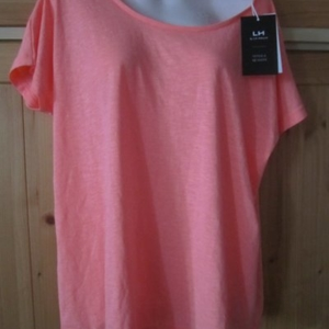 T shirt ample rose taille M