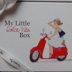 My Little Dolce Vita box (boîte vide)