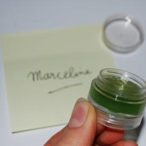 Brillant à lèvre vert pomme Yves rocher