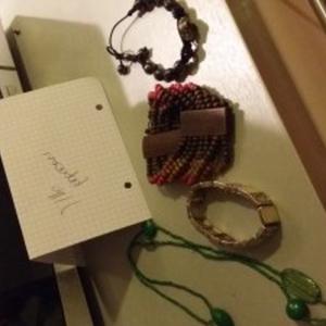 bracelet et collier