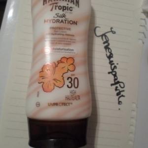 Crème solaire hydratante