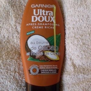 apres shampoing huile de coco beurre de cacao