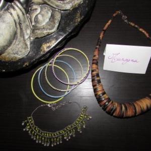 Lot bijoux Ethniques