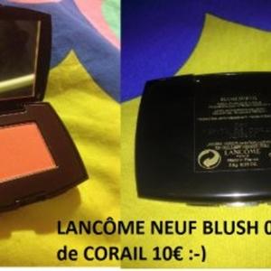 Blush pépite de corail Lancome