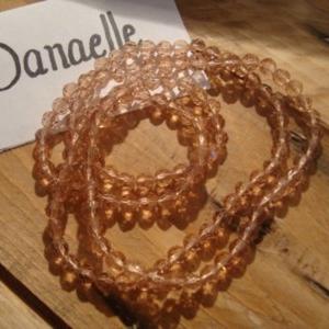 Bracelet/collier ton nude