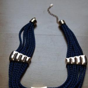Collier aztèque bleu