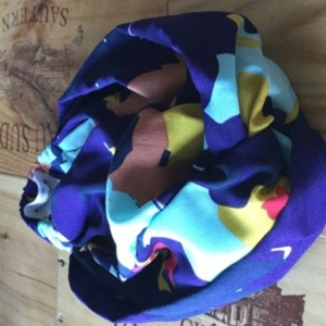 Le turban à escapade