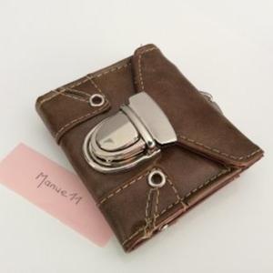 Petit porte monnaie 2 poches