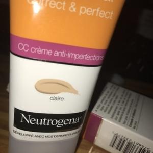 CC crème anti imperfections
