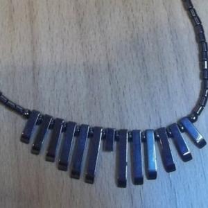 Collier perles céramiques