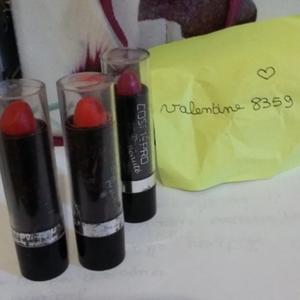 Lot de 3 rouges à lèvres
