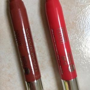 Lot de deux rouges à lèvres Bourgeois crayons