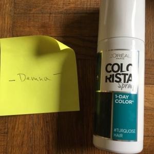 Spray colorant 1jour pour cheveux