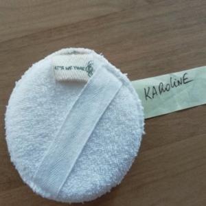 Eponge lavante exfoliante