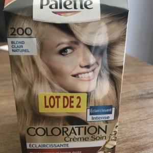 Lot coloration blonde