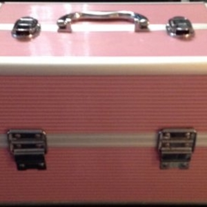 Palette maquillage rose/argent