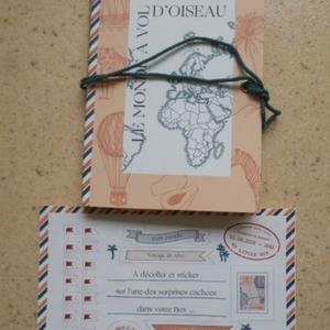 "Carte du monde ""My Little Box"" + stickers"