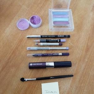 Lot maquillage Violet/Prune/Rose