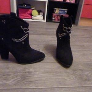 chaussure bottines ZARA