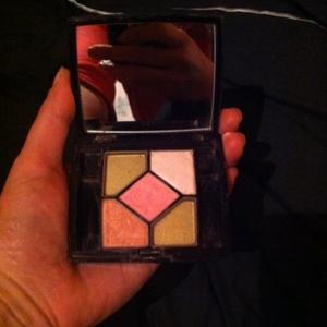 5 couleurs palette fards à paupières 770 pink id