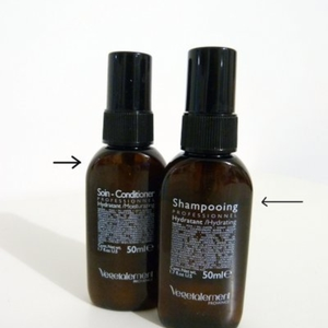 Shampoing et après shampoing hydratant
