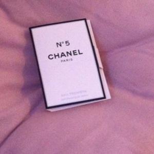 Echantillon Chanel n°5
