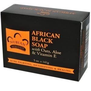 African Black Soap(Savon)