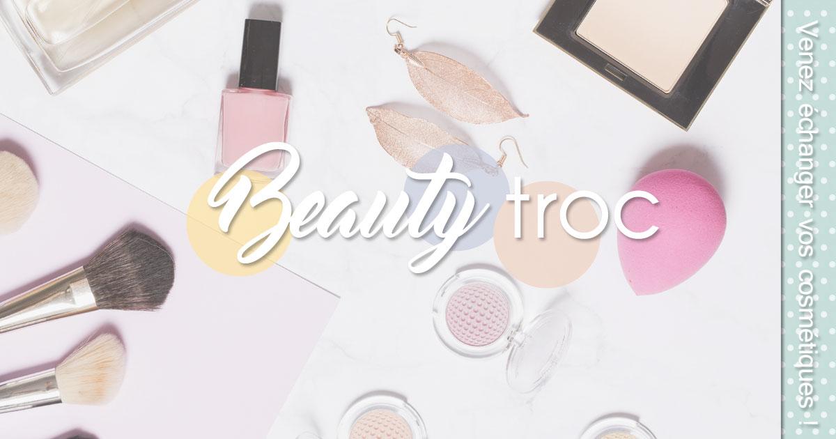 Beauty Troc Échangez vos produits de beauté !